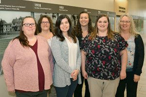 Members of the Kennebec Valley Community Care Team