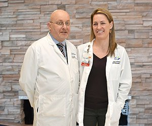 David Wexler, MD, FACS and Jenee Wechsler, ACNP-BC